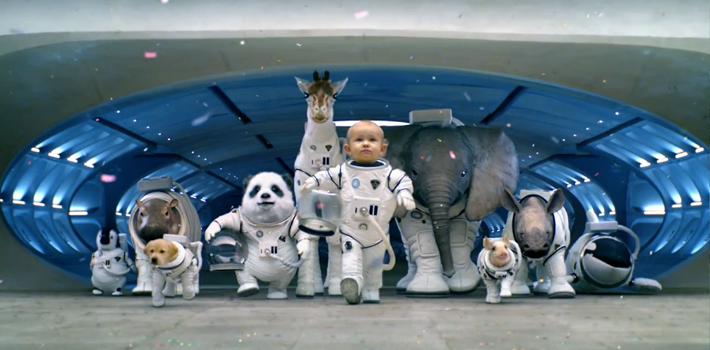 kia, sorento, 2014 kia sorento, super bowl ad, super bowl commercial, where do babies come from, space, planet, rocket, launch, babies, baby animals, space babies, uvo, wheels on the bus, birds and the bees, parachute, astronaut baby, astronaut animal, space suit, space travel, spaceship, sorento sx, sorento limited, 2013 super bowl, super bowl xlvii, big game, game day