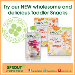 sprout, organic, baby food, toddler snacks, natural, vegetables, fruit, yogurt snacks, greek yogurt, toddler food, meals, snacks, yogurt bites, on the go, all natural