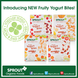 sprout, organic, baby food, toddler snacks, natural, vegetables, fruit, yogurt, toddler food, meals, snacks, yogurt bites, on the go, all natural