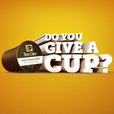 Do You Give A Cup? Peet's Coffee