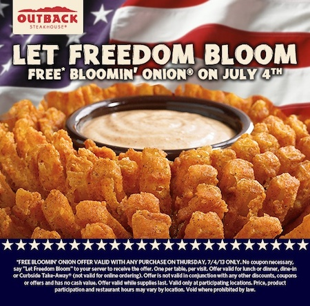 outback, bloomin onion, military mates, military, operation homefront