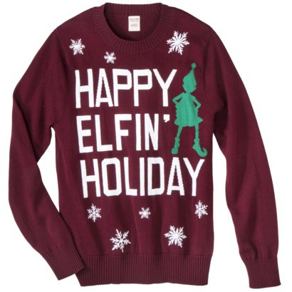 hilarious holiday, Ugly holiday sweater, Christmas, Target