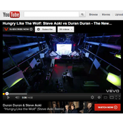 YOUTUBE: Hungry Like The Wolf (Steve Aoki Remix)